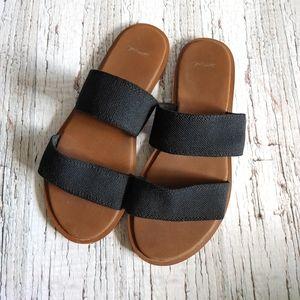 SANUK   Yoga Gora Gora Double Strap Flats Size 7
